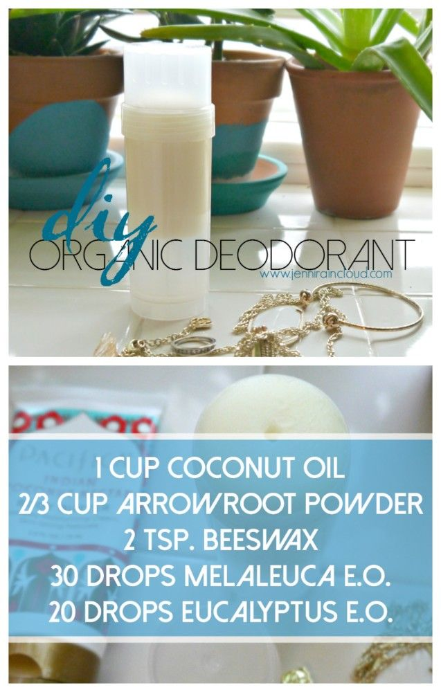DIY Non-Toxic Deodorant...