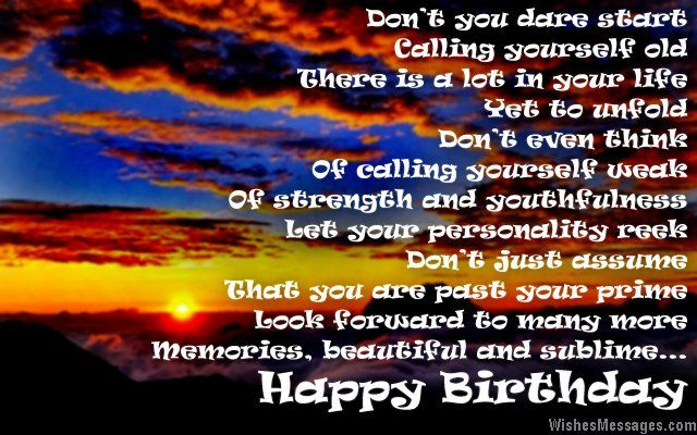 Dont you dare start calling yourself old There is a lot in your – 50th Birthday Greeting Cards