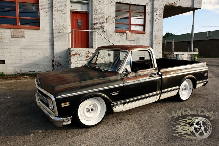 Chevrolet : C-10 PATINA SHOP TRUCK C10 AIR BAGGED BARN FIND in Chevrolet | eBay Motors
