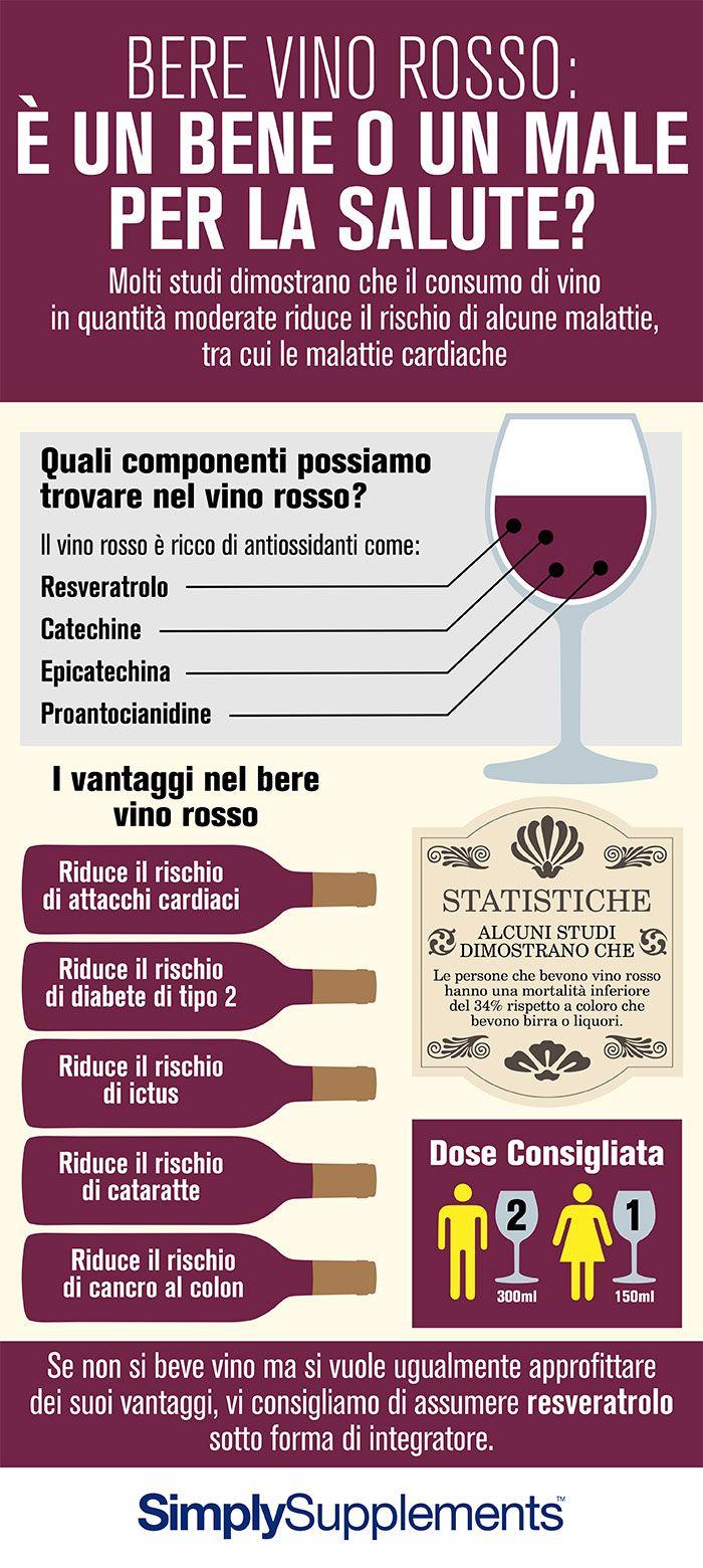Bere vino rosso, fa bene o male alla tua salute?