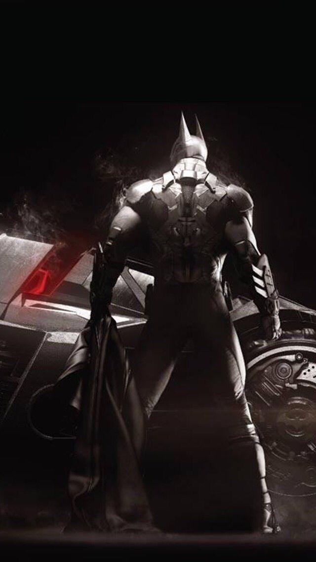 Arkham Knight Batsuit concept art