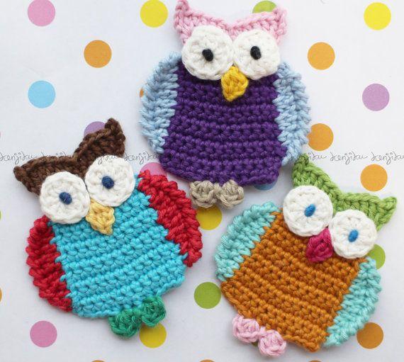 OWL crochet pattern DIY by KenjikuMade on Etsy