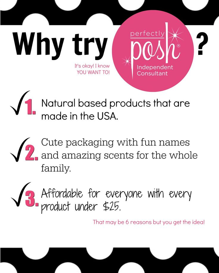 Do something good for your skin and try Perfectly Posh!