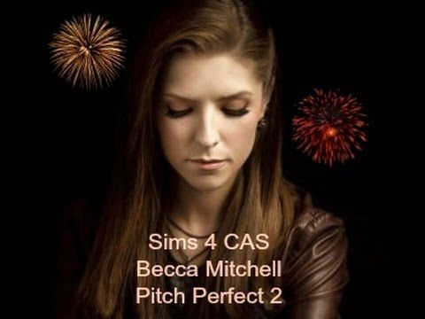 Sims 4 CAS Pitch Perfect 2 Beca Mitchell