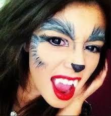 maquillaje de lobo para mujer