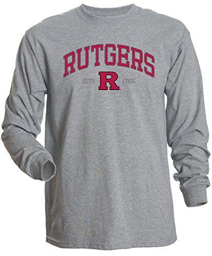 feaa76c6dfe NCAA-Rutgers-Scarlet-Knights-Mens-Basic-Long-Sleeve-Tee-Small-Athletic- Heather-0