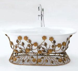 1000 ideas about acrylic tub on pinterest freestanding for Cast iron vs acrylic tub