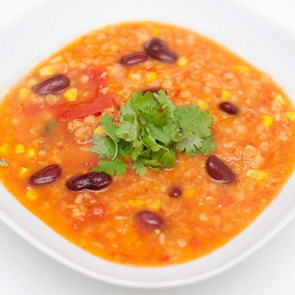 Meksikansk maissuppe