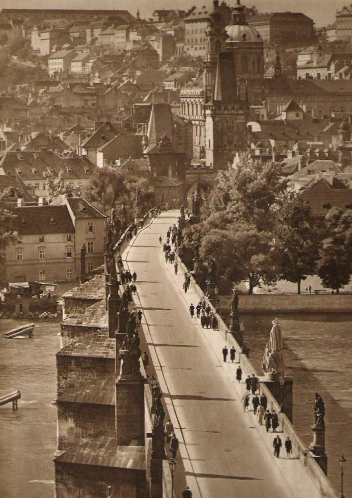 Prague thru time. Charles bridge