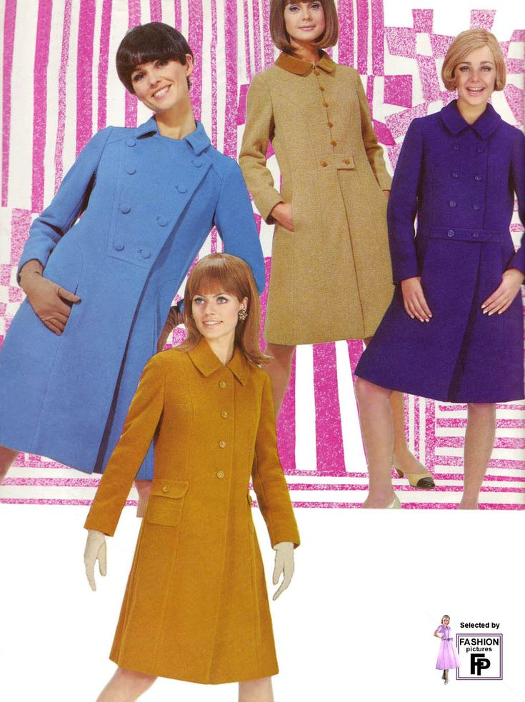 "1966...Had a pink ""spring"" coat!!!!!"