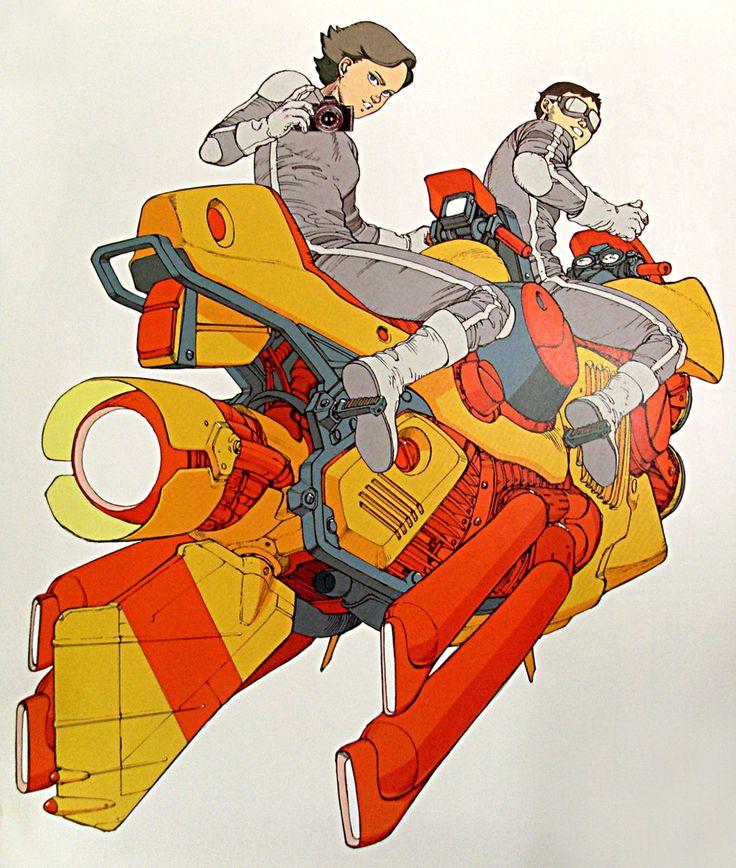 Great '80s advert for Canon by Katsuhiro Otomo (the brilliant creator of Akira)
