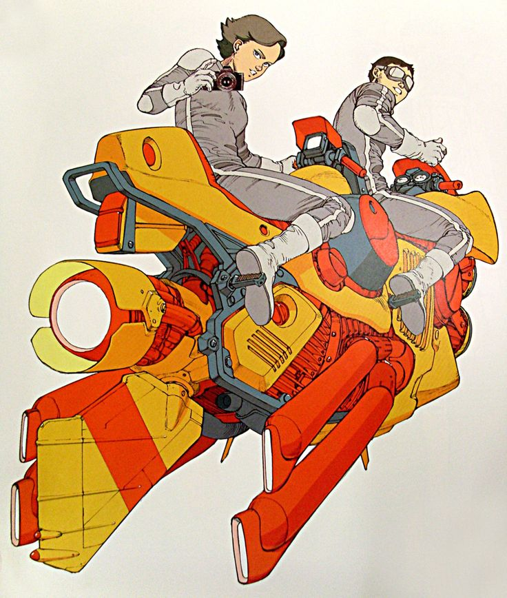 Great '80s advert for Canon by Katsuhiro Otomo (the brilliant creator of Akira)