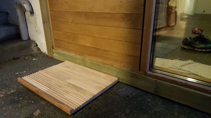 Oak Doormat.  Design By Jack Jensen (Me)