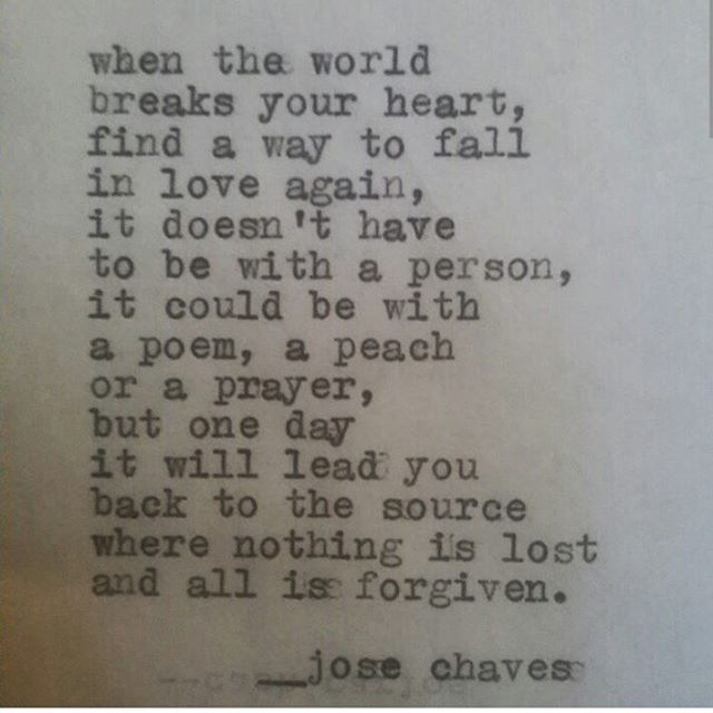Jose Chaves I needed this right now.