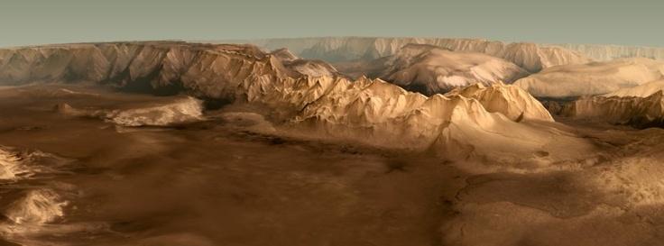 Sehenswert! Die Raumsonde 'Mars Express' hat 10 Jahre nach ihrem Start die erste dreidimensionale Karte unseres Nachbarplaneten erstellt. #Weltraum #Weltall #Space