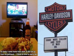 20 Men Who Clearly Have Awesome Wives & Girlfriends (GALLERY)