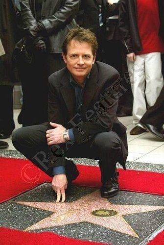 Michael J Fox - love him as an actor and an incredibly courageous man.  With the love and support of his wife, he stares Parkinson's in the face everyday, with all his might!