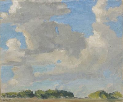 Prairie Sky by Lionel LeMoine Fitzgerald