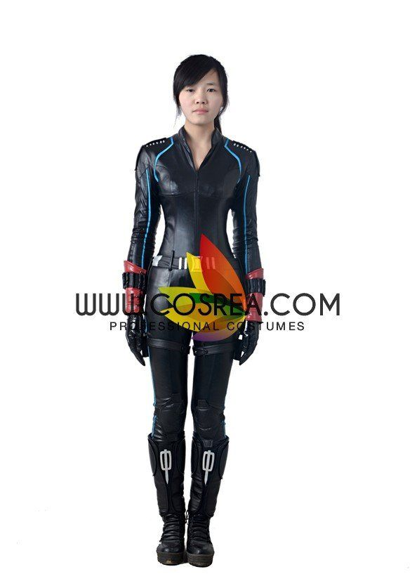 Marvel Avengers Age Of Ultron Black Widow Cosplay Costume - 2 - Visit to grab an amazing super hero shirt now on sale!