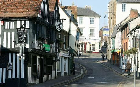 Bishop's Stortford, Hertfordshire, UK My place of birth