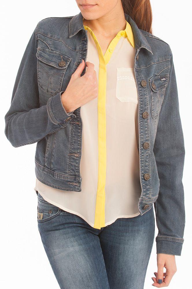 Outfit con el estilo vaquero de Lois Jeans