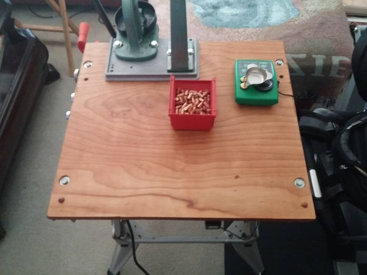 Portable Reloading Bench Plans Woodworking Projects Amp Plans