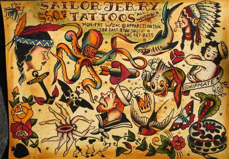 Conheça o trabalho de Sailor Jerry, pioneiro da tatuagem contemporânea