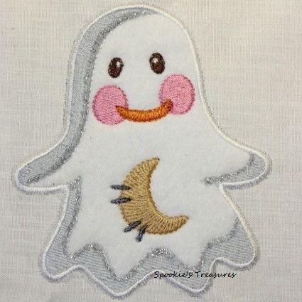 STE010_01  http://www.spookiestreasures.com/products/applique-little-ghost-4x4-0