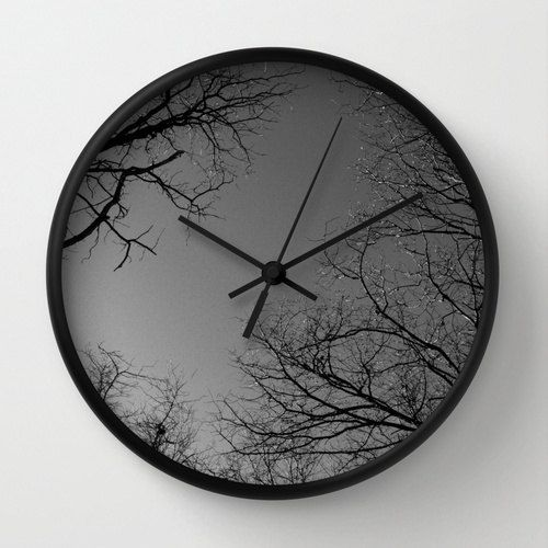 Wall Clock Tree Branches Tree Crown Nature Clock by LKBphotography