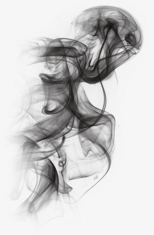 Smoke effect. Effects black png transparent