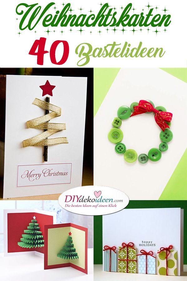 Originelle Weihnachtskarten Basteln 40 Unglaubliche Ideen Die Dich