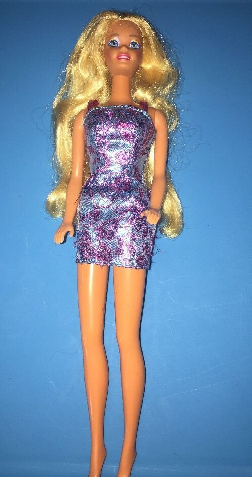1966 Tan Barbie Doll Vintage Malaysia Twist N Turn Glitter