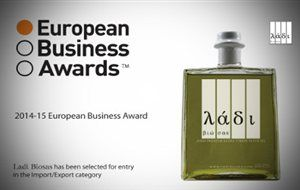 Ladi Biosas has been selected for inclusion in the 2014-15 European Business Awards sponsored by RSM. Every year the European Business Awards research team spend six to eight months analyzing over 17 000 companies across Europe to seek out the very best businesses that demonstrate the guiding principles of the Awards: • Commercial success • Innovation • Business ethics