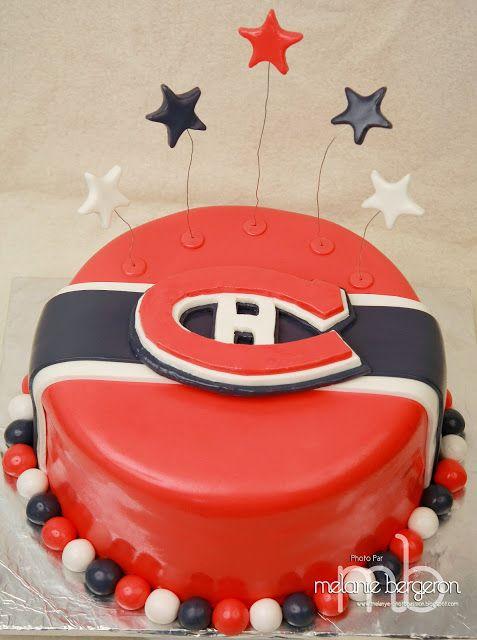 Rose Sucré: Gâteau des Canadiens de Montréal