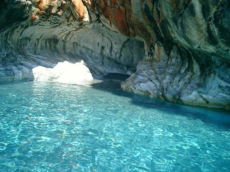 Explore the caves of Marmara beach on a canoe kayak!