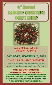 Pennsylvania Arts and Craft Show .. Carlisle Christmas Craft Show In Carlisle, PA In November 2015