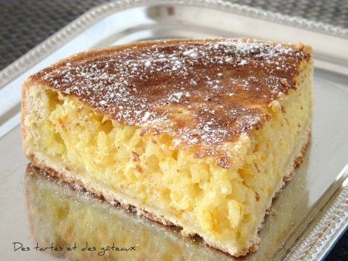 Sa réputation n'est plus à faire, en Belgique, elle est connue depuis des décennies cette fameuse tarte au riz de Vervier. J'y ai ajouté un