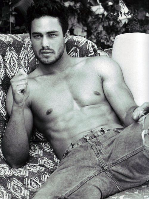 Taylor Kinney.... I would set my house on fire every day if it meant that he was the one coming to put it out!