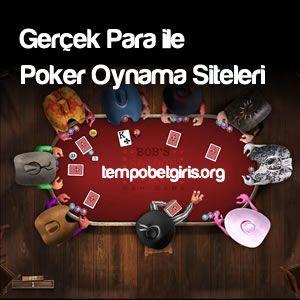 Gerçek para ile poker oynama siteleri her Poker oyuncusu için önemlidir. Ağırlıklı olarak en çok tercih edilen poker türkleri ile paralı poker.