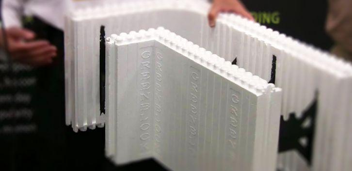 Le bloc polystyrène pour construire les murs de la maison, solution isolante intéressante et légère #construire #maison #ConstruiresaMaison