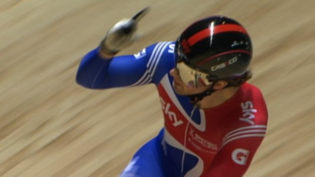 Jason Kenny has been selected to ride the individual sprint for Team GB cycling ahead of Olympic champion Sir Chris Hoy.
