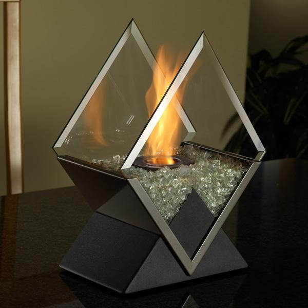 Tabletop Diamond Gel Fireplace  Price: $119.00