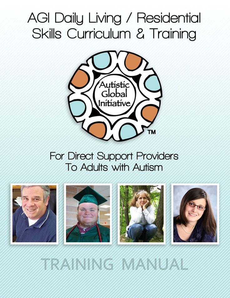 Announcing the AGI Daily Living/Residential Curriculum for Direct Support Providers | Autism Research Institute