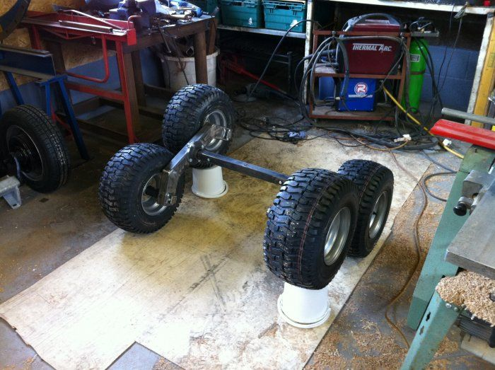 ATV trailer. tandem/walking axles - MIG Welding Forum