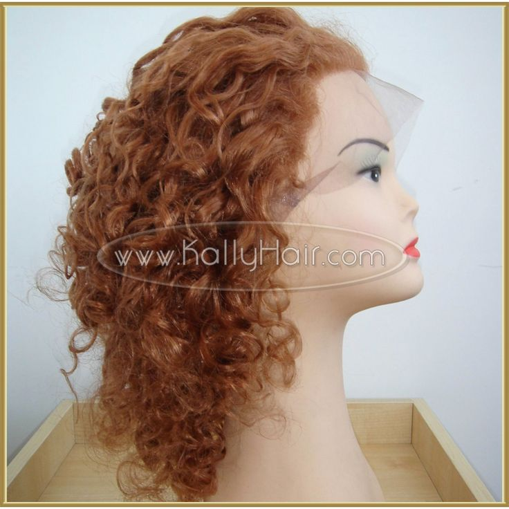 18inch Loose Wave Malaysian Full Lace Human Hair Wigs For Sale