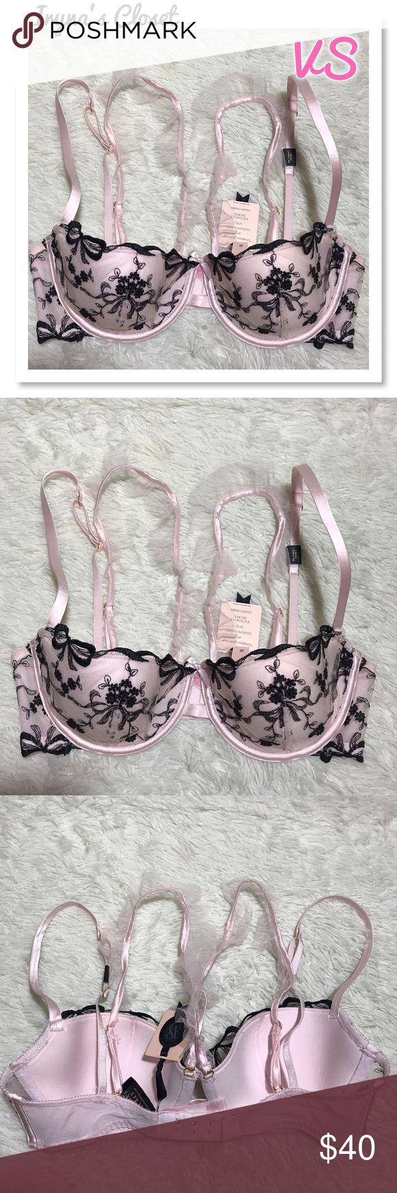 VS 32D Designer Collection Balconet Bra Lightly lined Victoria's Secret Intimates & Sleepwear Bras