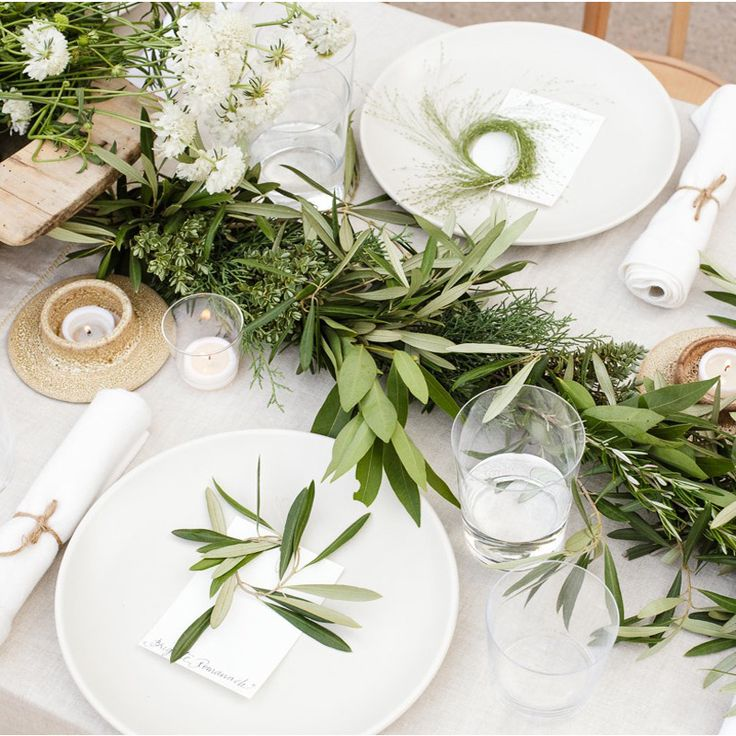 Dinner Party // Herb Garden Theme