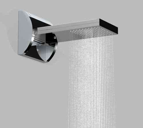 waterfall/rain shower head
