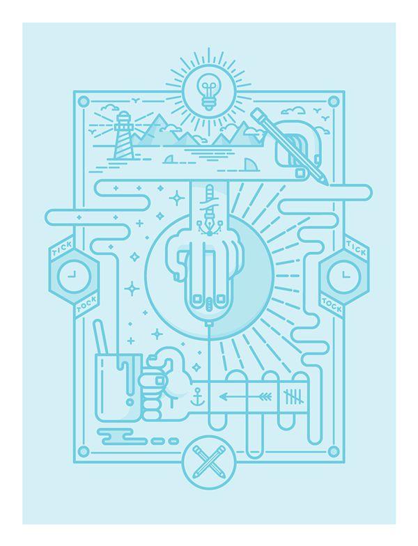 IAPI illustrations on Behance
