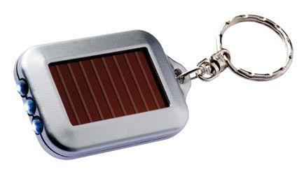 The Solar Torch Keyring